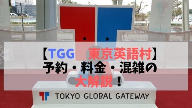 TGG 東京英語村 予約・料金・混雑の大解説!