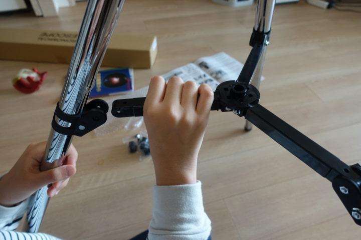 天体望遠鏡を組み立ててみる