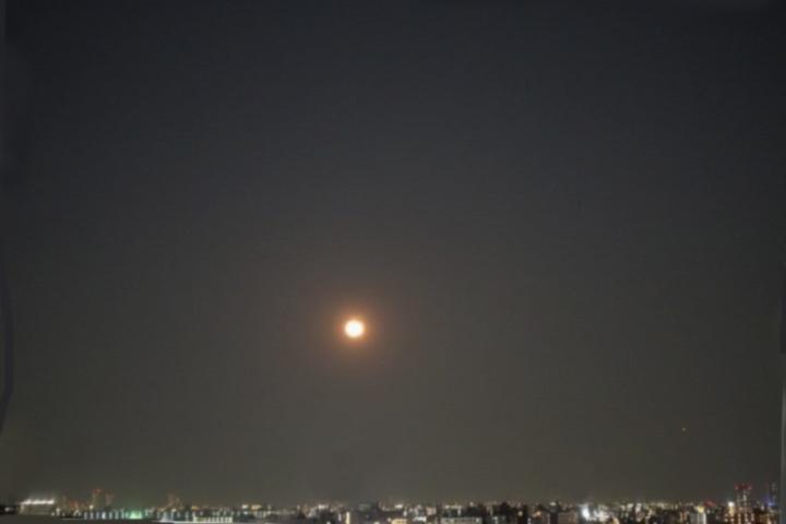 いざ天体望遠鏡のファーストライト
